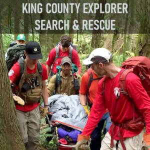 Explorer Search & Rescue (ESAR) is a highly versatile team that serves as King County's primary ground search and rescue unit.  ESAR is the largest of King County's SAR units and it maintains an advanced technical rescue team, a group of nationally and state-certified EMTs (emergency medical technicians), and it supports a robust youth development program.