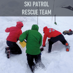 Ski Patrol Rescue Team (SPART) provides emergency medical/trauma care in wilderness environments year round to the citizens of King County. This work includes getting to people in need in mountain areas and in avalanches, and administering medical care. SPART supports King County Search and Rescue by maintaining two equipment caches stocked with safety and rescue gear.